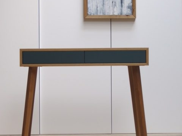 Console Table, Inchyra Blue