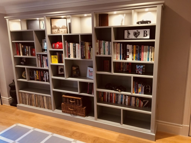 Bespoke Libary Shelving Unit, South London