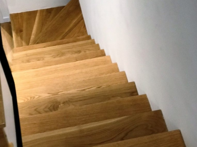 Oak Cladded Stairs, Bromley