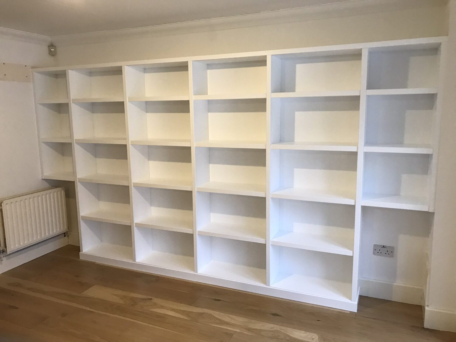 Home Office Shelving, Custom Made Shelving, Library